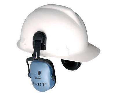 Orejera Clarity Azul 20dB para montar en casco