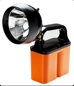 Linterna BRIGHTSTAR c/Reflector ajustable 6V