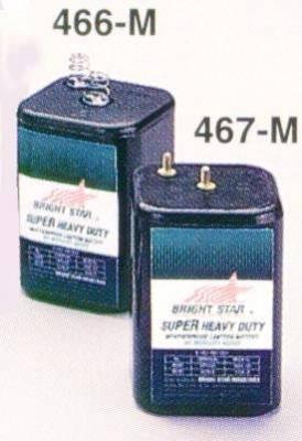 Batería descartable de 6V para linternas 2206 y 2208