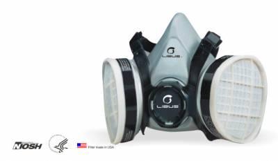 Respirador media cara Mod 9000E Reutilizable