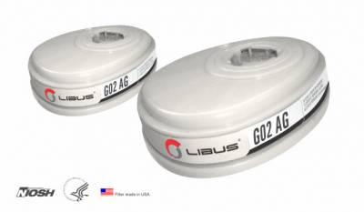 Kit Cartuchos G02 AG p/Respirador L-9000