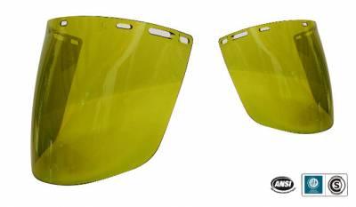 Protector Facial Burbuja DARK GREEN W5