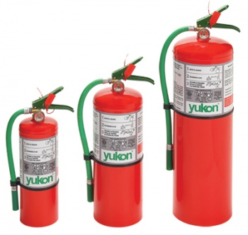 Extinguidor a base de HCFC 123 10KG.