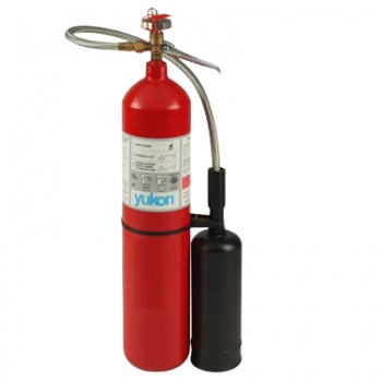 Extinguidor a base de Dioxido de Carbono 10 KG.