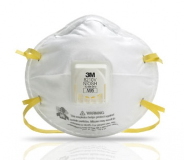 Respirador 8210V N95