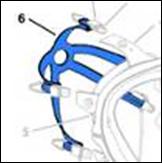 Asiento válvula exhalacion 5500/7700 unidad
